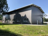 18 D-Urbach, modern hall for production and storage, ~ 450 m² rental area, 8 m eaves height, intermediating a 5 years rental-contract